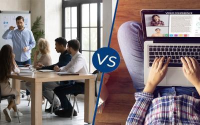 Klassikale versus online training